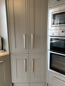 Kitchen larder cupboard fridge conversion